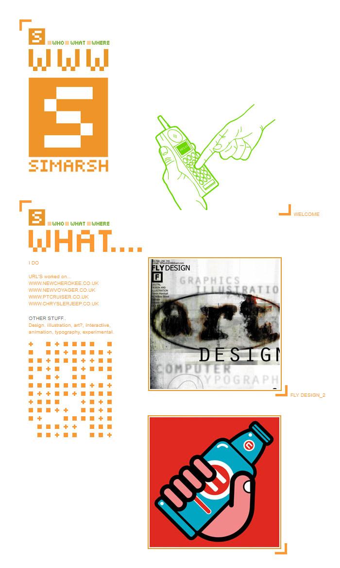 Web Design Portfolio 2001