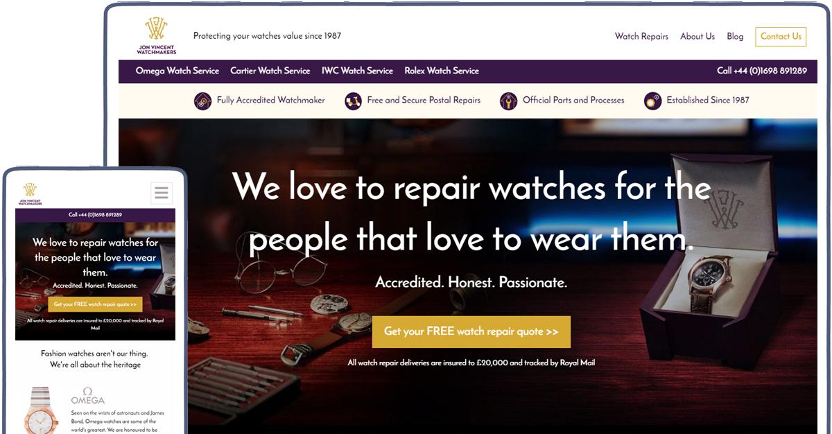 JVW web design